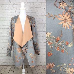 Soft Surroundings Ultra soft floral cardi jacket